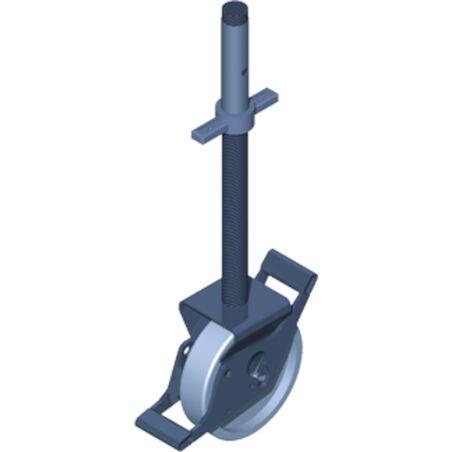 Направляющий ролик с домкратом, Ø 200 мм #1
