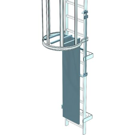 Защитная дверца для аварийных лестниц #1