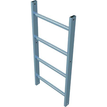 Настенная лестница из нержавеющей стали #1