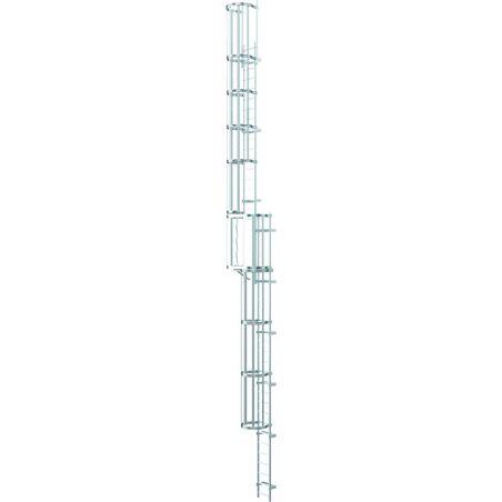 Многосекционные настенные лестницы, анодированный алюминий #1