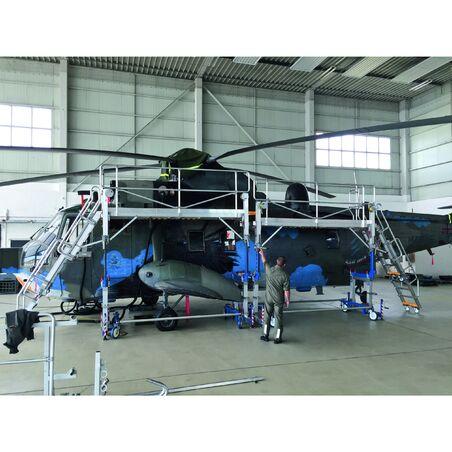 Рабочие платформы для технического обслуживания по индивидуальному заказу для авиации #1