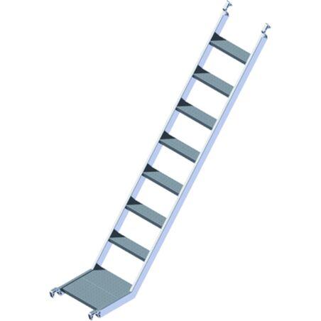Лестница наклоннного подъема #1