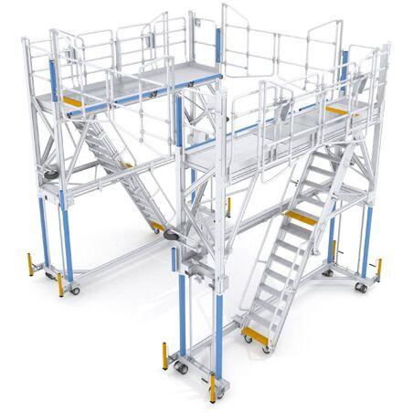 Платформы для работ на крыше #1