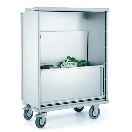 Шкаф на колесах W 105 N для перевозки белья #1