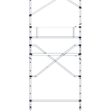 Диагональ площадки #1