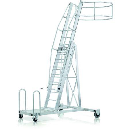 Лестница для подъема на вагон-цистерну, базовый модуль #1
