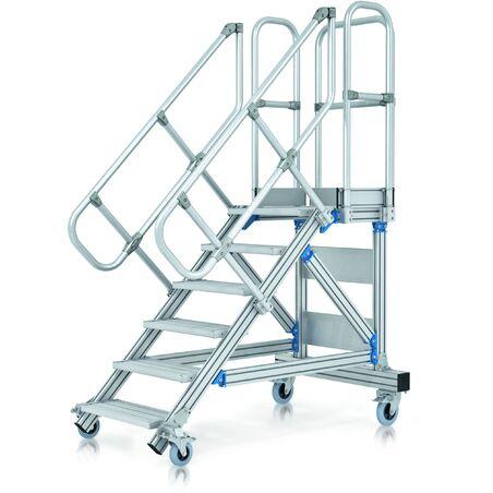 Передвижные лестницы-подмости #1