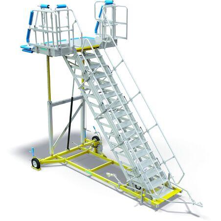 Специальные ремонтные лестницы для воздушного транспорта #1