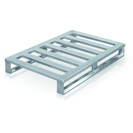 Плоские алюминиевые поддоны на салазках #1
