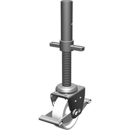 Направляющий ролик с домкратом Ø 150 мм #1